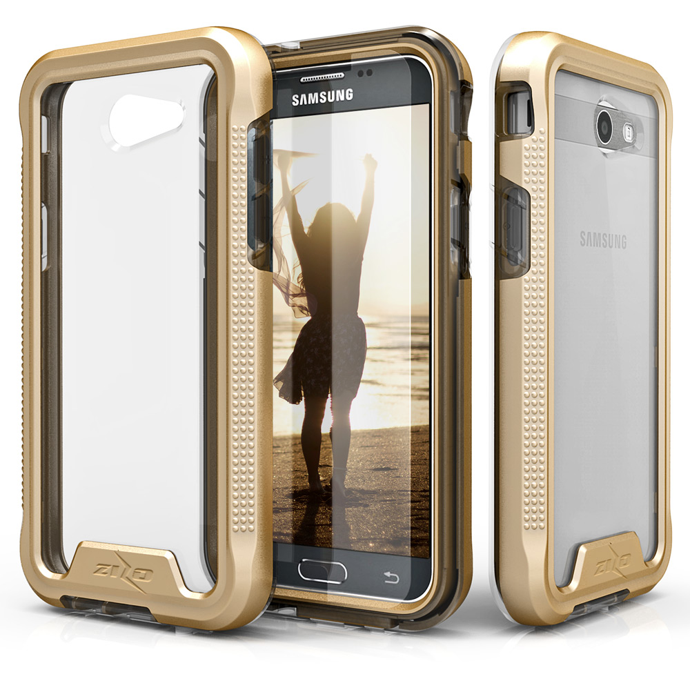 super popular 1ca5a 1cd3c Samsung J3 Prime/Amp Prime 2/Emerge Ion Case Gold