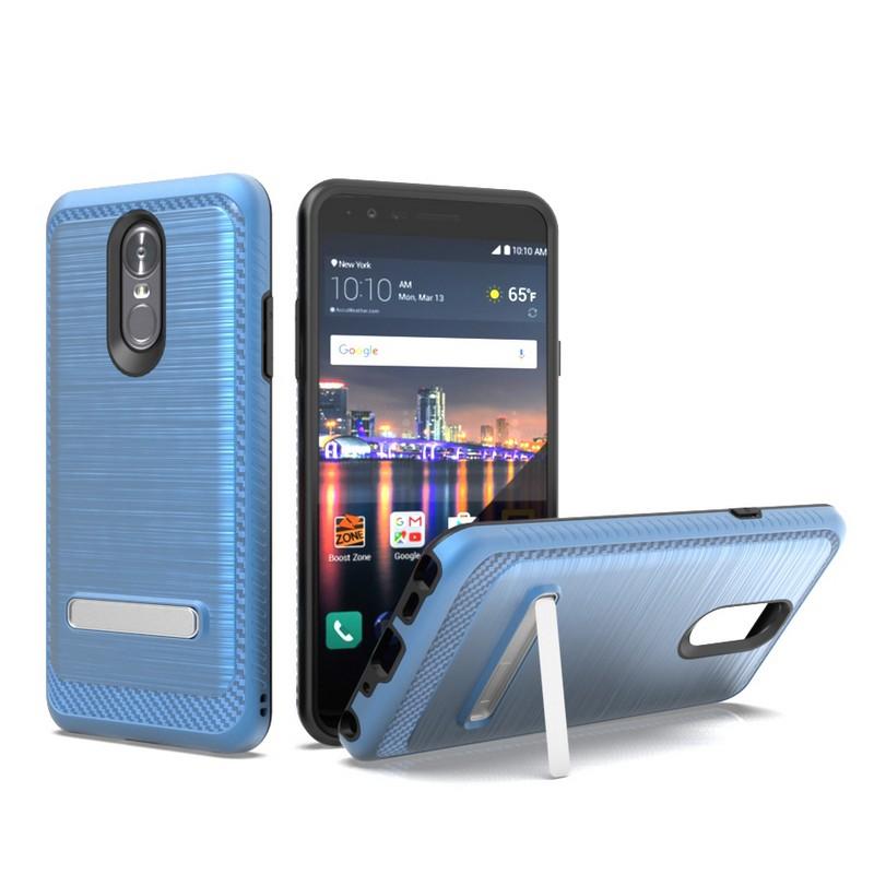 LG Stylo 4 G7 Metal Kickstand Dark Blue
